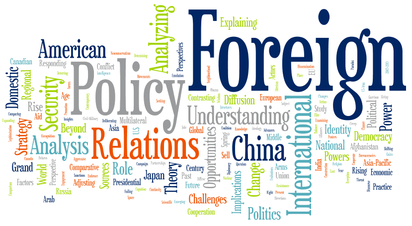 about foreign policy